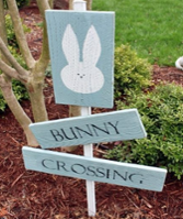 EasterGardenSign