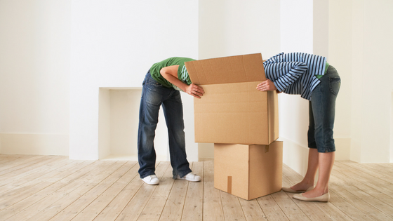 How to properly pack before a move