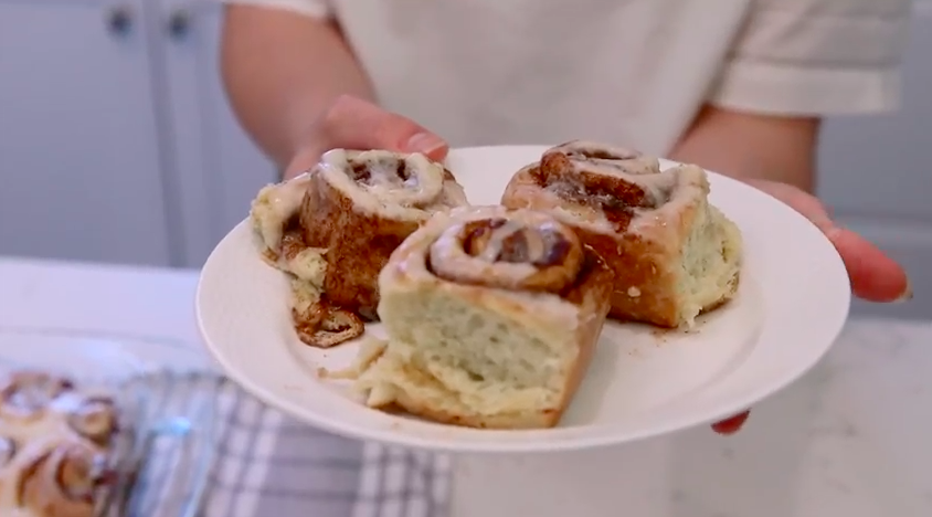 how to make homemade cinnamon rolls